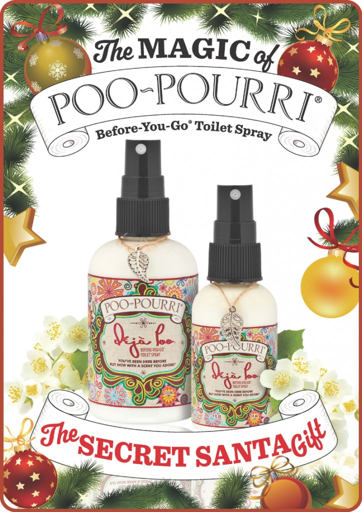 Consider Poo Pourri for your Secret Santa