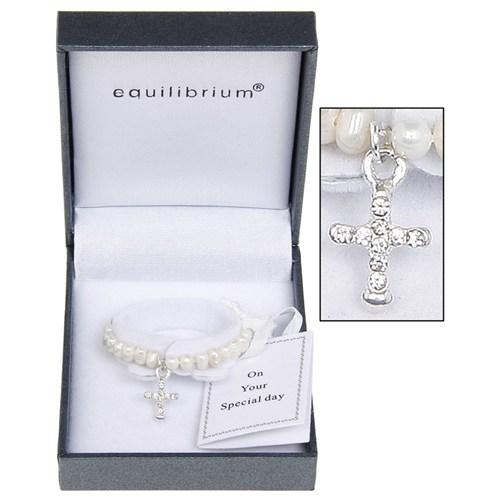 Christening Pearl Bracelet