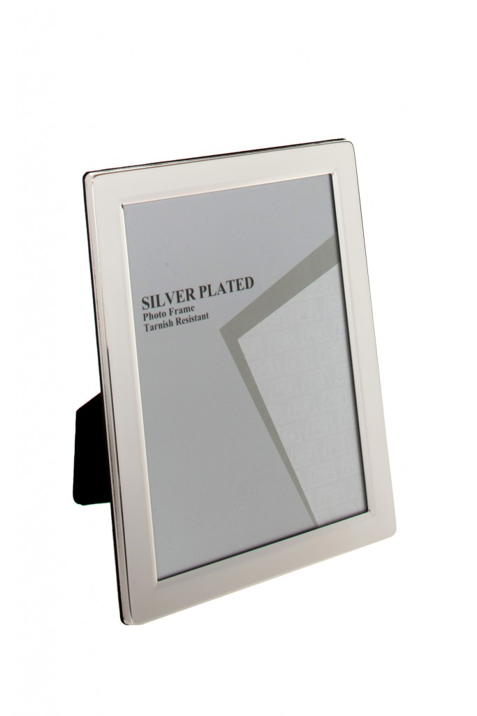6 x 4 Silver Plated Photo Frame
